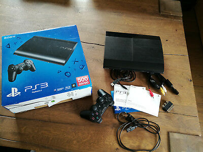 Playstation 3 PS 3 Konsole inkl. Controller 500 GB Top Zustand