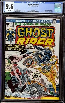 Ghost Rider # 3 CGC 9.6 White (Marvel, 1973) John Romita cover