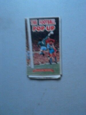 The Football Pop-Up From 1968  Free Gift From Victor Comic   Gift Only