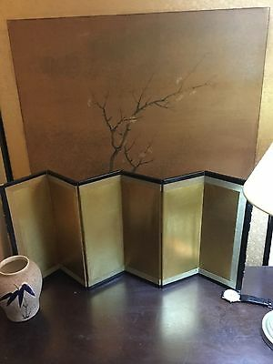 Miniature Japanese screen