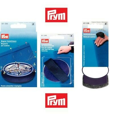 Prym Sewing Pin Cushion Wrist, Hand & Magnetic