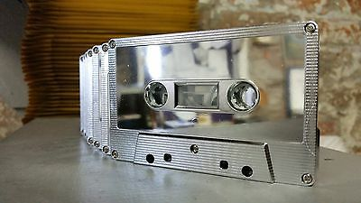 Silver Metallic Mirror C60 cassette tape rare collectable blank audio NEW 2015