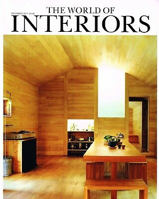 THE WORLD OF INTERIORS 12/2017 DAMIEN ODOUL Gavin Houghton PETER GREEN @NEW@