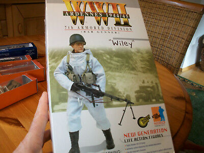 "Dragon 1/6 Scale 12"" WWII US BAR Gunner Armored Div. Wiley Action Figure #70171"