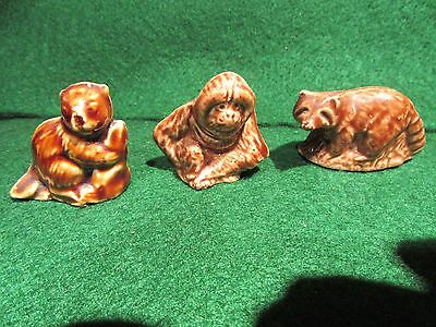 Wade England Red Rose Tea, Lot of 3 different figures figurines