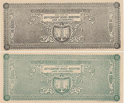 United States College Currency 100 Dollars 1900 Uncirculated Conditi Mav-480-100
