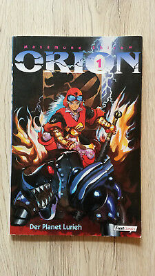 Orion # 1 - Masamune Shirow - Feest Comics - Manga - Top
