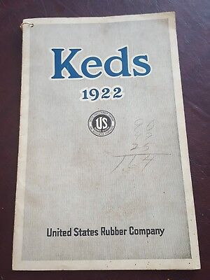 Very Rare Antique Original Keds 1922 Sneaker Shoe Catalog