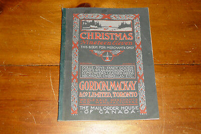 Christmas 1911 Mackay catalog Toys-Dolls-Steiff-Steam-Trains-Boats 216p Beauty !