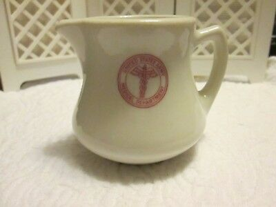 Vintage Creamer Restaurant Ware Royal China Sebring, OH  US Army Medical Dept
