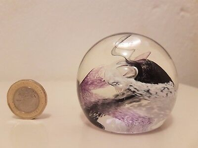 Paperweight - Caithness Mooncrystal - Black & White