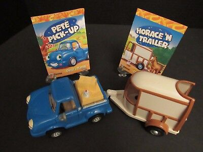 """Chevron Cars PETE PICK-UP #7 & HORACE 'N TRAILER #8 - """"1997"""" - Owners Manuals"""