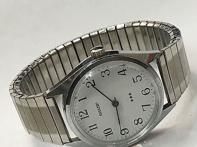 Vintage Mechanical  Windup Sharp Watch New Old Stock From the 70s(683220)