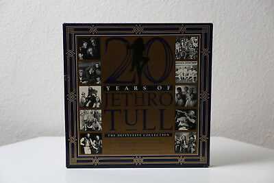 20 Years of Jethro Tull The Definitive Collection LP / Vinyl 5 LP Box Set