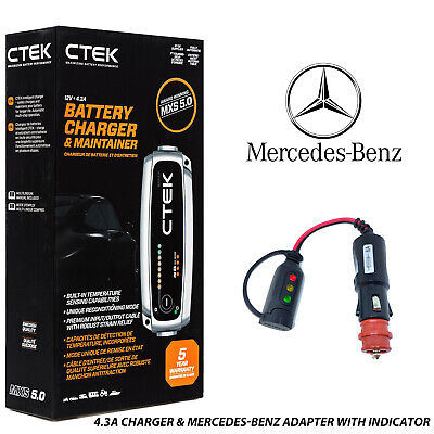 Bentley Battery Charger CTEK Adapter GT Flying Spur Azure Arnage Brooklands