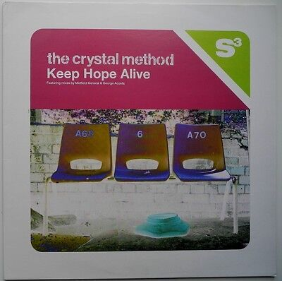 "12"" Uk**the Crystal Method - Keep Hope Alive (S3 '96)**26001"