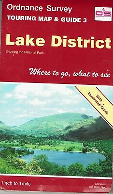 Ordnance Survey Touring Map of the Lake District