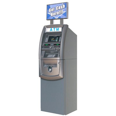 New Genmega G2500 ATM Machine - No Phone or internet Lines Needed!!