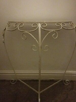 Wrought iron dresser COLLECTION ONLY