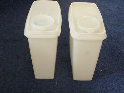 2 x Tupperware Cereal Boxes