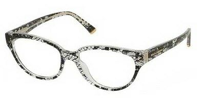 1cc8c141f153 Dolce   Gabbana DG 3116 1901 Black Lace Eyeglasses New 53mm Authentic