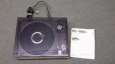 1976 Pioneer PL-15D Turntable