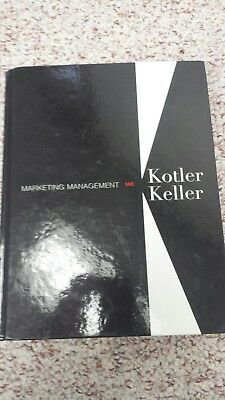 2012 marketing management 14e kotler textbook vguc 2012 14th edition marketing management 14th edition kotler keller 14e wunused pearson pin sealed fandeluxe Images