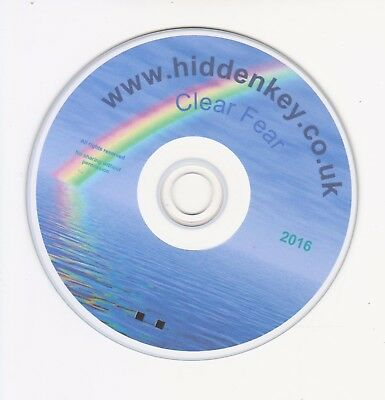 Hypnotherapy Remove ANY Fear / Phobia Treatment CD Hypnosis Hypnotism Hidden Key