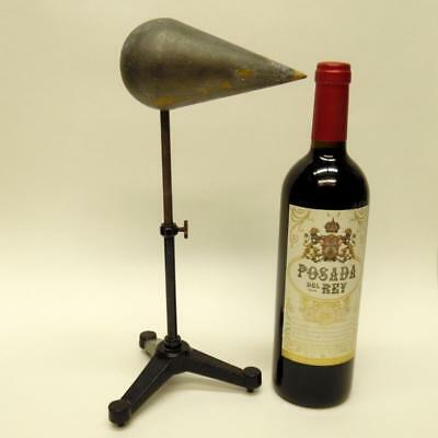 Vintage Laboratory Stand - Chemist Retort Stand With Wooden Conductor