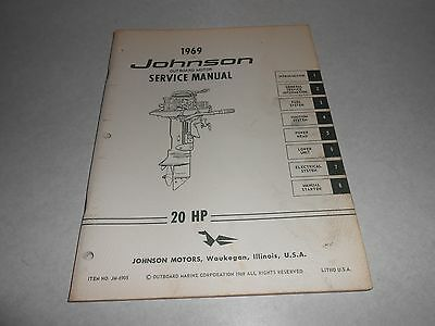 1969 85 hp genuine evinrude johnson outboard repair service 1969 20 hp genuine johnson evinrude outboard repair service manual 20hp sciox Image collections