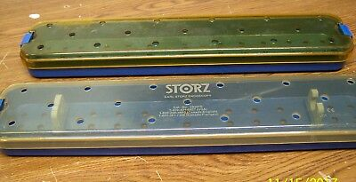 Storz Endoscopic Sterlizer Locking Containers..set Of 2