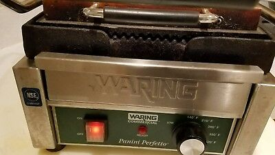 """WARING Commercial """"Panini Perfetto"""" WPG150.read!"""