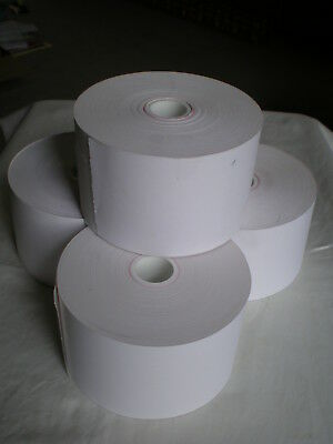 4 rolls ATM Paper for Tidel machines  heavyweight thermal receipt paper