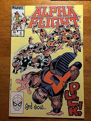 Alpha Flight #5 (Nov 1983, Marvel)