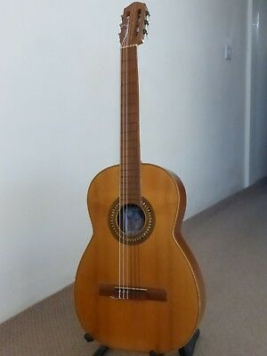 """Vintage Roca Classical guitar from 1950""""."""