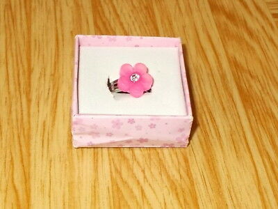 Ring Blume rosa  Schmuck Kinder   Adventskalender