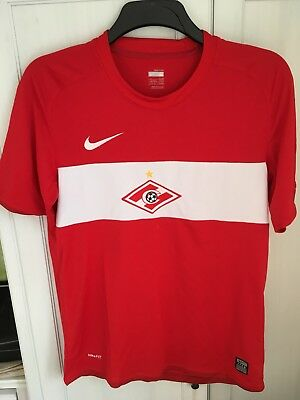 2009/2010 Nike Spartak Moscow Home Shirt Small Mens