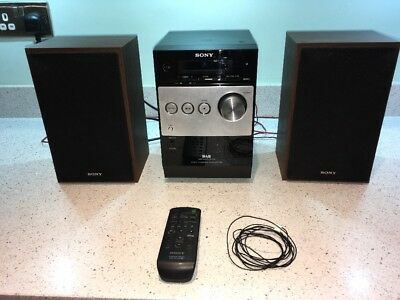 Sony CMTFX250 Mini Hi-Fi with CD, FM, DAB and Audio in