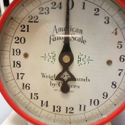 American Farm Scale Red and white