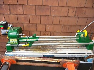 "QUALITY English Record wood lathe, model DML 24X,  24"" between centres"