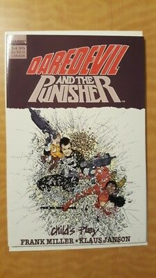 Daredevil And The Punisher Child's Play TPB Marvel Comics Book VF+ (8.5) NR