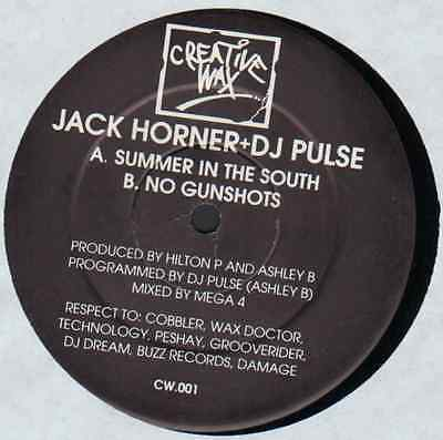"★★12"" Uk**jack Horner + Dj Pulse - Summer In The South (Creative Wax '93)★★24379"