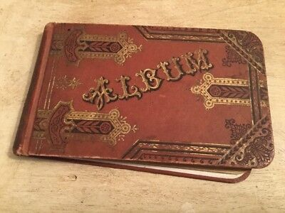 Late 1800's Autograph Book
