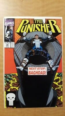 Punisher (vol.2) #48 Marvel Comics Book VF/NM (9.0) NR Auction! Free Shipping!