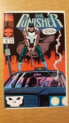 Punisher (vol.2) #45 Marvel Comics Book VF+ (8.5) NR Auction! Free Shipping!