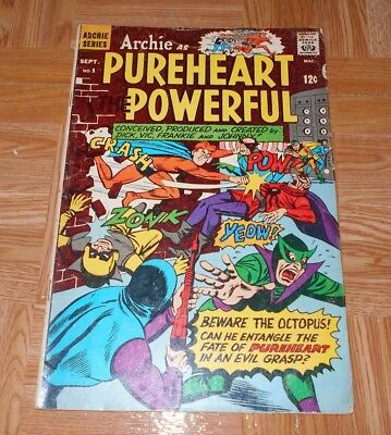 Archie as Pureheart the Powerful #1 (Sep 1966, Archie) VG