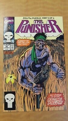 Punisher (vol. 2) #39 Marvel Comics Book VF+ (8.5) Jigsaw Puzzle: Part 5 Of 6