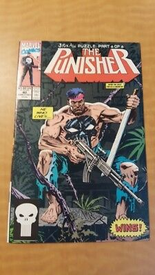 Punisher (vol. 2) #40 Marvel Comics Book VF+ (8.5) Jigsaw Puzzle: Part 6 Of 6