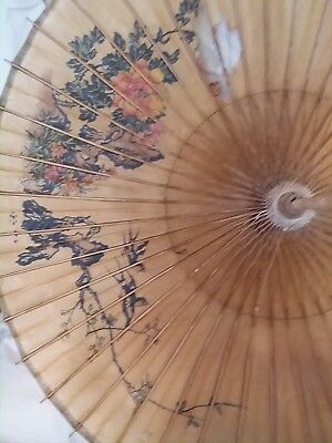 Antique Decorative Asian Umbrellas circa  early1900s
