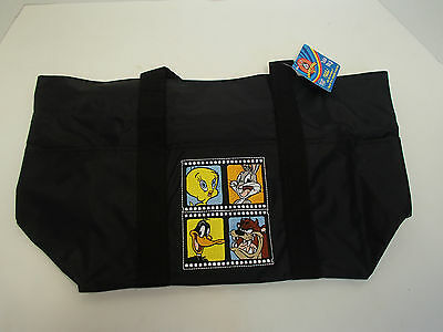 Warner Bros Looney Tunes Vinyl Tote Bag Made For Hallmark New With Tags